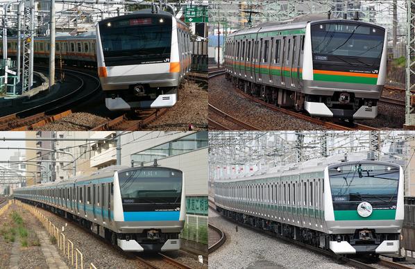 もし中央線が新幹線の色になったら… 「ゆめでん」シリーズめっちゃ楽しい!