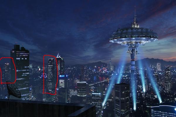 あの「大都会岡山」の画像に使われている街は実在した - いまトピ