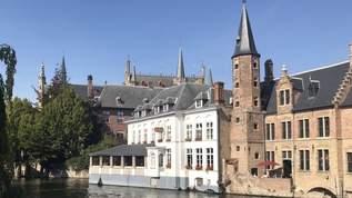 【世界遺産を #おうち旅行 】ベルギーの中世の街並みが残るブルージュ