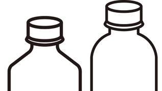【セリア】「推しをボトルに詰めたいタイプのオタクはセリアに行くべき」ひらくインテリアボトルがいろいろ使える(1/2)