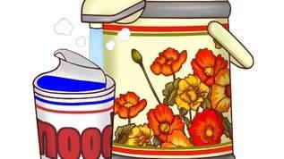 「欲しすぎて泣きそう」「レトロおしゃれ!すっごく良い!」「スリムボトルにこの柄ってのは逆に新しいね」象印花柄復刻ボトル&ポットがレトロで可愛すぎ!(1/2)