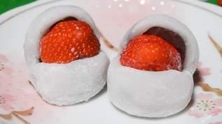 「この発想、天才か!」「雪見だいふく最強?!アレンジ無限大で美味しそ〜」「簡単で美味しそう」雪見だいふくでフルーツ大福&カルボナーラが激うま(1/2)