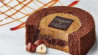 シリーズ最高? ローソン×GODIVA「キャラメルショコラロールケーキ」が話題に