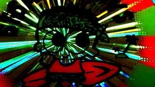 衝撃の顔面を初公開!…放射ホログラフと駄コラシールと「ファンシー絵みやげ」(1/3)