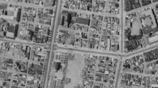 昭和と現代の航空写真を比較すると面白い