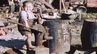 【カラーで見る】第二次大戦終了わずか2ヵ月後、「東京」の赤裸裸な日常