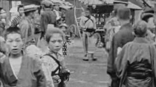 【関東大震災前】約100年前の東京の繁華街や子供たちの遊びを捉えた超鮮明映像