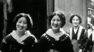 【約80年前】満州に暮らす日本人たちの日常を捉えた貴重映像