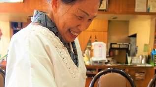 着物に割烹着姿のママの笑顔が「味な喫茶店」