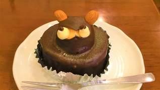 絶滅危惧種「たぬきケーキ」のあるお店!パフェと赤飯が自慢の老舗の和菓子屋さん