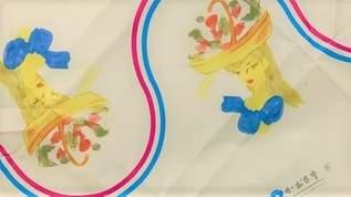 秋田菓子宗家かおる堂の「長者の山」と「カオルサブレ」を東郷青児の包み紙でお取り寄せ(1/3)