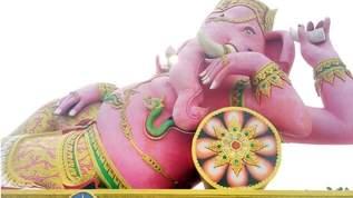 超巨大なピンクのゾウが爆速で願いを叶えてくれるパワースポットがすごい
