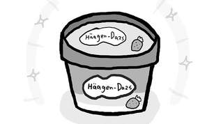 """【漫画】ハーゲンダッツの""""隠れハート""""って知ってる?"""