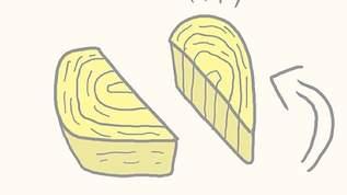 """【超簡単!】卵焼きを可愛く見せる""""ウラ技""""♪♪♪"""