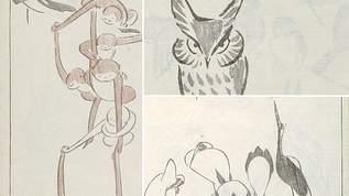北斎のライバル⁉ ゆる絵師・鍬形蕙斎の描く絵が最高にかわいい♡