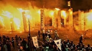 死ぬまでに行きたい絶景…を超える絶体絶命景!?日本三大火祭りが焼き討ち級で大炎上