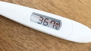 「学校に行きたくない小学生」体温計にある細工…?賢くてかわいいと話題に!!