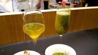 """""""和""""のクリスマスを生茶がプロデュース!日本一のバーテンダーが作るお茶カクテルが絶妙"""