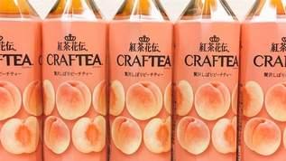 「桃好きにはたまらぬ」「後味が桃ー!」紅茶花伝クラフティーからピーチティーがでたっ!