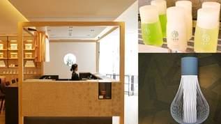 【画像】茶室をイメージしたフロント、茶せんの照明…お茶づくしの「ホテル1899東京」へ潜入(1/3)