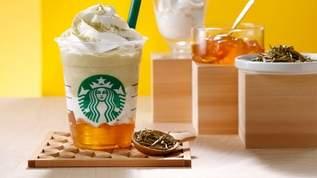 スターバックスの新プロジェクト第1弾「加賀棒ほうじ茶フラペチーノ」が5月30日に登場!