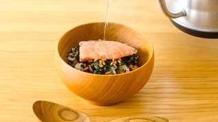 【食べるお茶】海苔ではなく茶葉をまるごと食べる新タイプのお茶漬けが1ヶ月限定で登場!