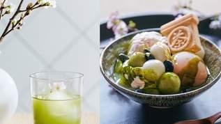 お花見気分で味わう!桜煎茶や桜あんみつが期間限定で登場「カネ十農園 表参道」