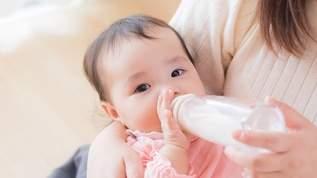 ドラッグストアで粉ミルクを見てたら、オジサンに「おっぱいで育てろよ」と言われ…→その後の返しにネット民「カッコ良い」