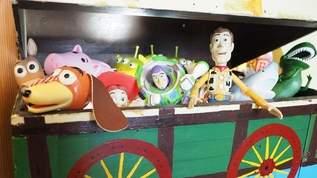 まるでおもちゃ箱。「トイ・ストーリー」愛に溢れまくったカフェがあった!