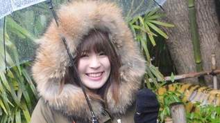【PASSPO☆藤本有紀美】Lサイズ!?な生物と触れ合いに雪の動物園に(2)