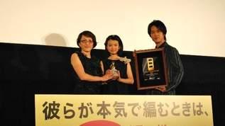 生田斗真「母性が膨らんだ」映画「彼らが本気で編むときは」初日舞台挨拶レポ