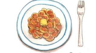 海外のインスタで人気「シリアルパンケーキ 」簡単レシピ、食べ方のアレンジが楽しい