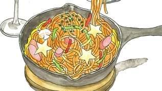 【逃げ恥レシピ】香ばしい 「スキレットdeナポリタン」でテーブルが華やぐ!