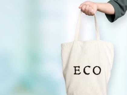 【ワークマン売り切れの予感】「買ってよかったな〜と思ってるもの ワークマンの99円エコバッグ」「100均よりしっかりしてる」「トートバッグみたいな無印。99円でお財布にもエコ」(1/2)