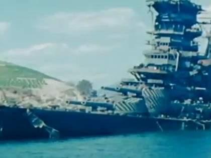【カラーで見るリアル「艦これ」!?】終戦直後に撮影された日本の戦艦や空母など
