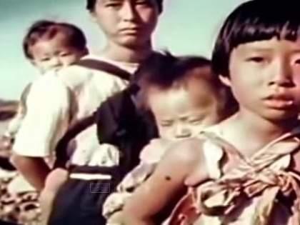 【原爆投下3ヵ月後】長崎の爆心地を撮影した驚愕のカラー映像