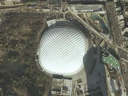 東京都庁やディズニーランドの場所は以前何があったのか昔の航空写真で調べてみた