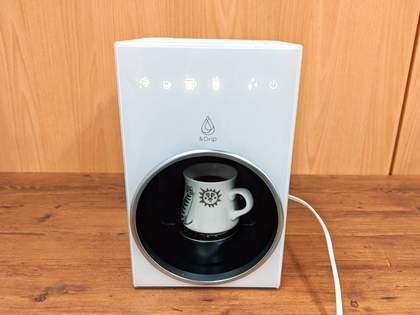 """「nendo」がデザイン監修!自宅でも薫り高いドリップコーヒーや紅茶がワンタッチで楽しめる""""未来な家電""""を使ってみた(1/3)"""