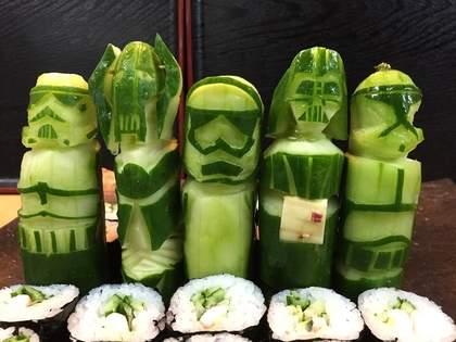 スター・ウォーズが大好きなお寿司屋さん「美奈吉」がスゴイ!